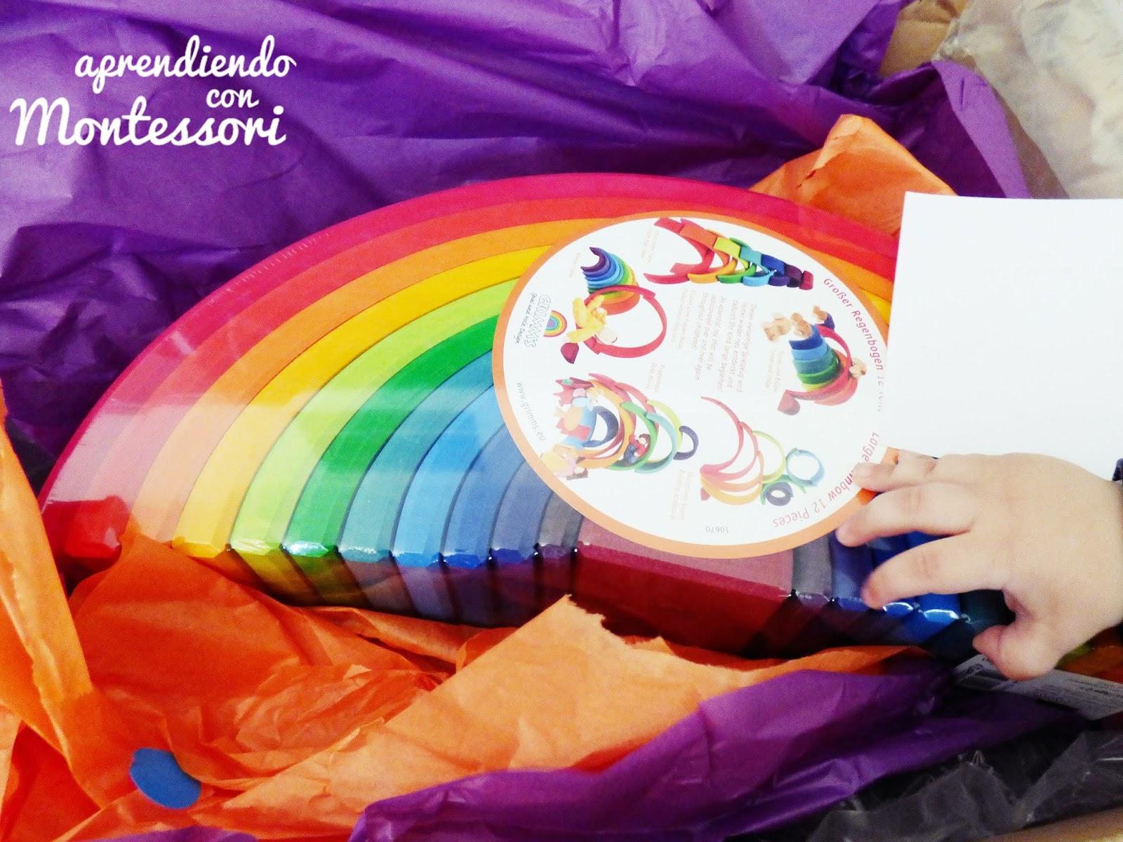 Arco Grimm's Con Montessori Iris Aprendiendo Grande KF31lcTuJ