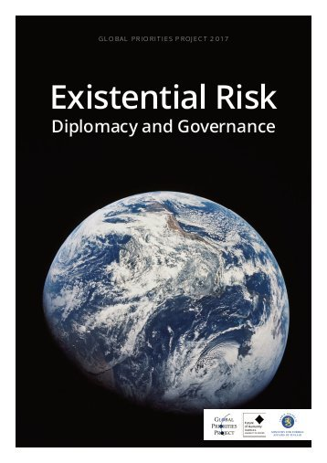 Existential risk, diplomacy, and governance
