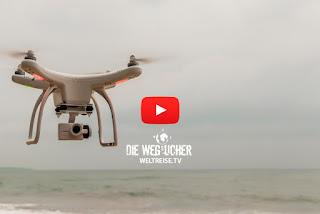 Hiriketiya Beach und Tangalle Beach in Sri Lanka, Weltreise, Drone fliegen, Aufnahmen