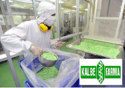 Lowongan Kerja PT. Kalbe Farma Manufacturing, Jobs: HRD Staff, Production Supervisor