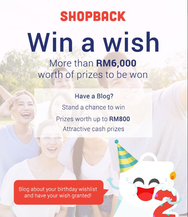 Shopback, Win A Wish, contest, shopping online, Lazada, ZALORA, Under Armour, Philips, Eat Healthy, byrawlins,
