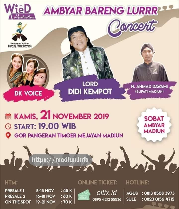 Konser Ambyar Didi Kempot Gor Pangeran Timur Caruban Madiun Info