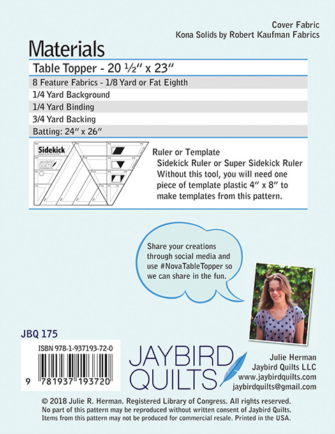 Nova Jaybird Quilts