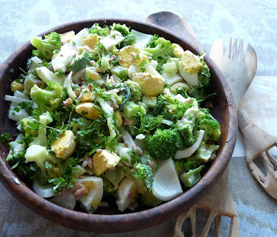 Devillish Broccoli & Egg Salad