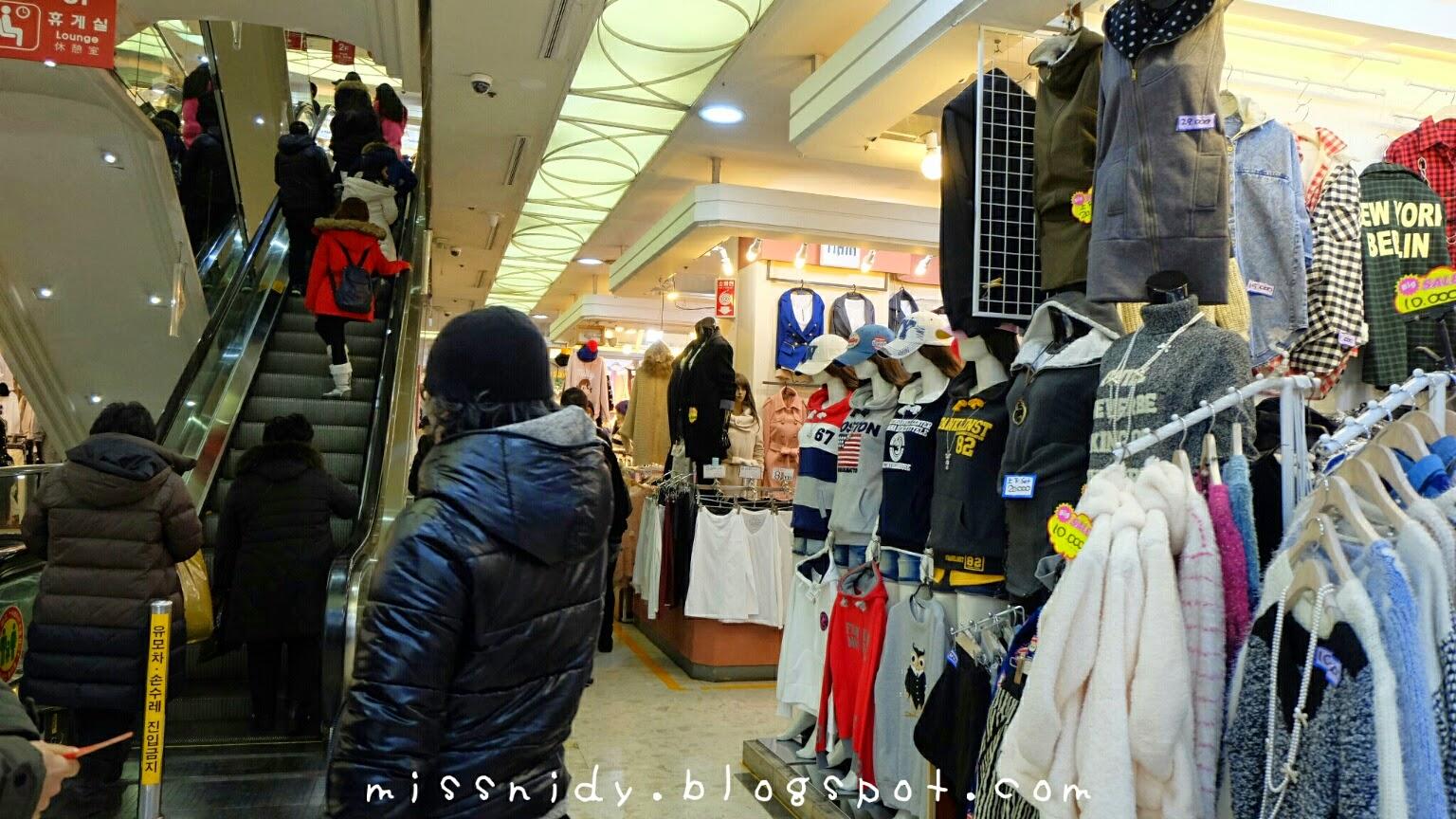 pengalaman shopping di migliore dongdaemun