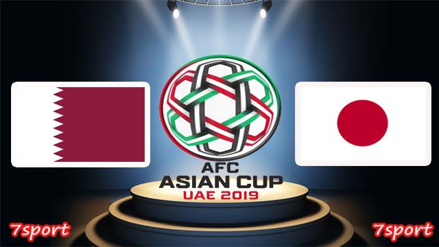 موعدنا مع  مباراة قطر واليابان  بتاريخ 01/02/2019   نهائى كأس آسيا