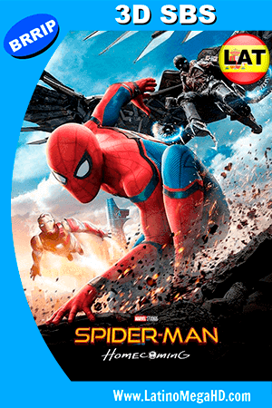 Spider-Man: de Regreso a Casa (2017) Latino HD 3D SBS 1080P ()