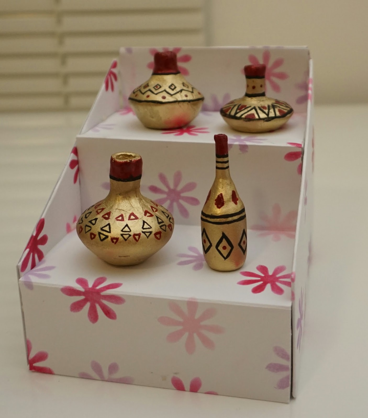 Made From Clay Pots Crafts: Crafts And Crafts Only: Miniature Clay Pots