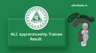 NLC Apprenticeship Trainee Result
