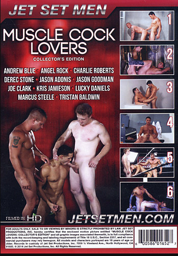 Muscle Cock Lovers Cover Back