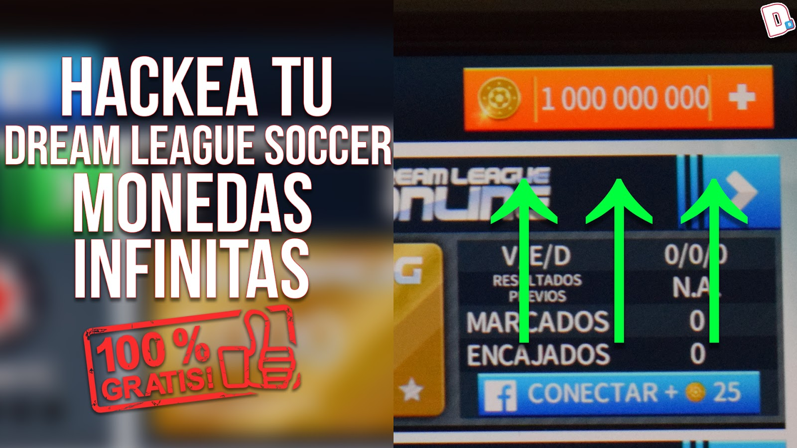 Dream League Soccer Monedas Infinitas Y Todo Desbloqueado D