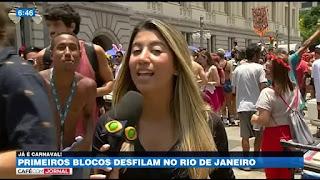 Carnaval do Rio de Janeiro deve receber quase 2 milhões de turistas