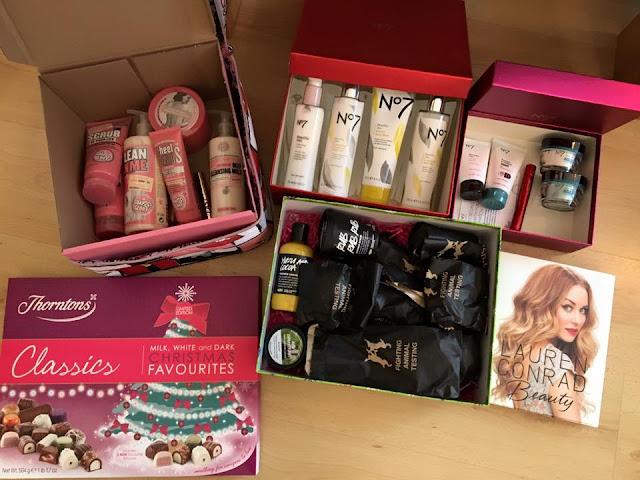 Christmas present haul