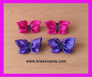 Ide Kreatif Membuat Ikat Rambut Cantik Bentuk Kupu-kupu