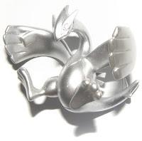 Lugia silver figure Tomy MC