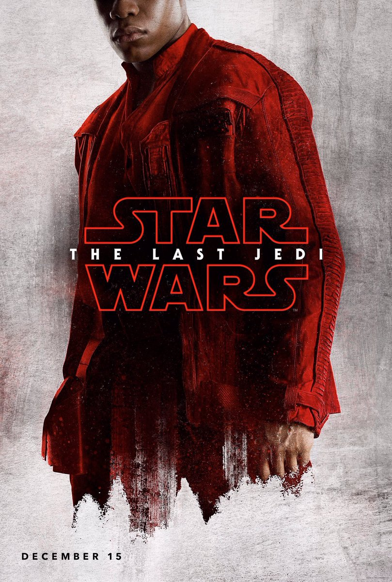 character posters for Star Wars: The Last Jedi