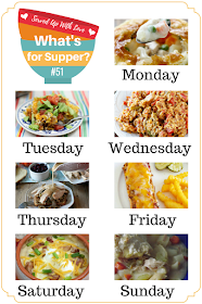 Meatloaf Melts, Loaded Baked Potato Soup, Taco Pie, and so much more at What's for Supper Sunday weekly meal plan.