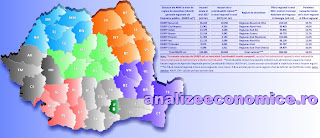 În ce regiuni se înregistrează cel mai mare grad de colectare a taxelor raportat la PIB-ul regional