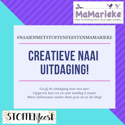 Creatieve naai uitdaging MaMarieke