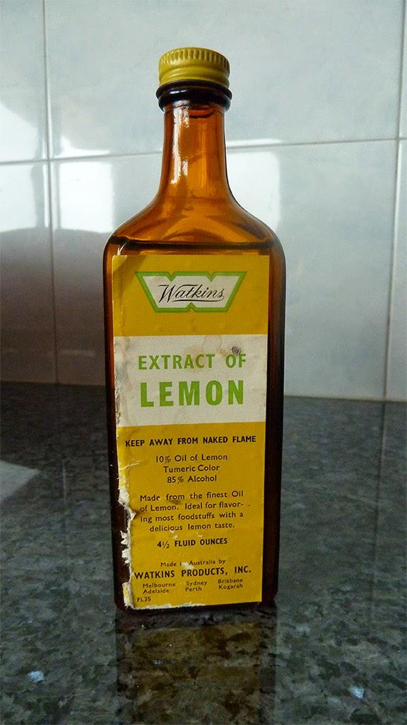 thoughts & happenings: Watkins Extract of Lemon