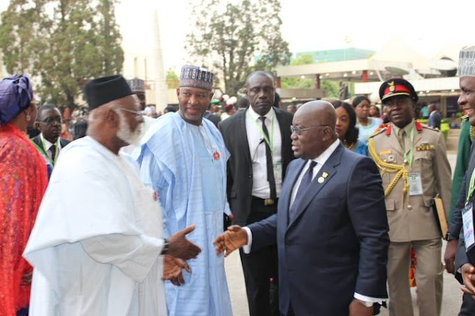 President Akufo Addo and his Colleague ECOWAS Leaders Resolve to Fight Terrorism and Political Instability in the Subregion