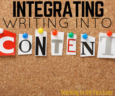 Are you looking for easy peasy ways to get your students writing in content areas? This blog post details seven ways to get them writing. The last one is my favorite!