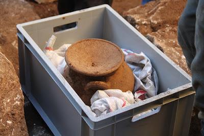 Ελληνιστική τεφροδόχος βρέθηκε στη νοτιοδυτική Τουρκία