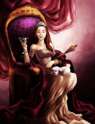 Ilustración de princesa