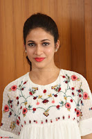 Lavanya Tripathi in Summer Style Spicy Short White Dress at her Interview  Exclusive 239.JPG
