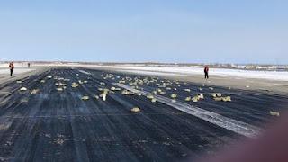 Απίστευτο! Tρεισήμισι τόνoι χρυσού έπεσαν από αεροπλάνo στην Ρωσία! (video)