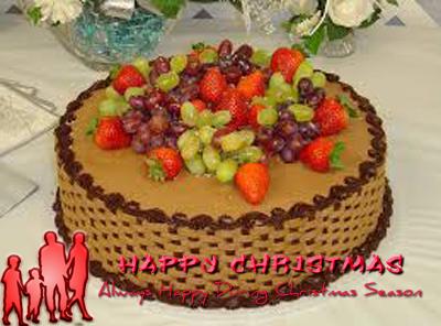 yule-log-cake