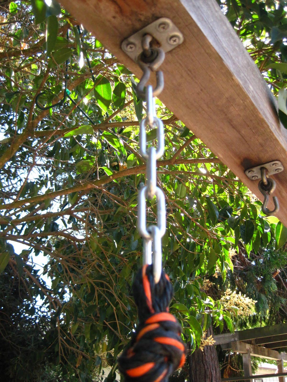 Storing Up My Treasures Diy Platform Swing Glider