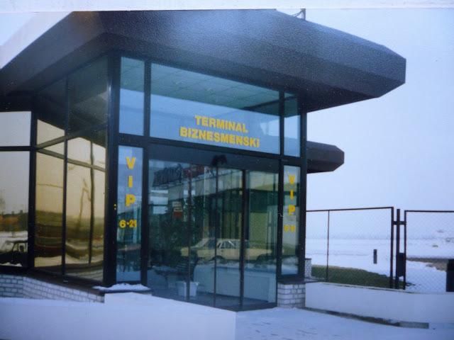 terminal biznesmeński Gdańsk lata 90. lata transformacji