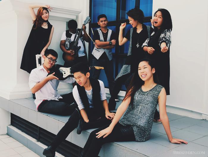 Brunei Blogger May Cho, The Mayden, Lifestyle Blogger, Shian Li Chiam, Eden Chiam, Esther Joy Alcantara, Lim Ao, Expression Music, Bless The Nations, Band, Musicians