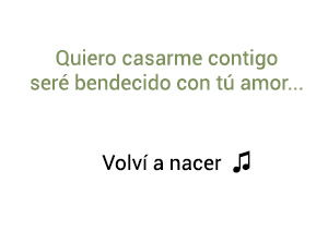 Carlos Vives Volví A Nacer significado de la canción.