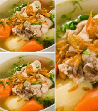 Resep Sup Daging Spesial (Menu Praktis dan Sehat)