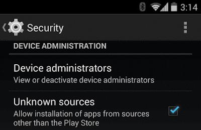 تنصيب برنامج سايفون على الاندرويد من apk