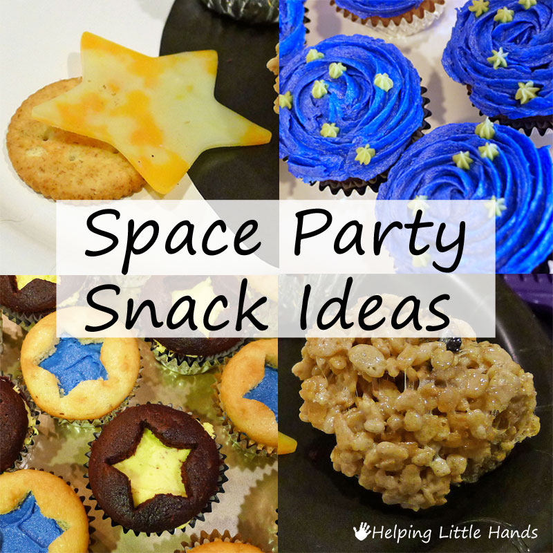 Children S Birthday Party Food Spread Berkshire England: Pieces By Polly: Space Party Snack Ideas
