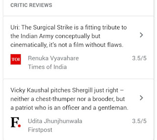 URI : The Surgical Strike Movie Reviews & Box office collection