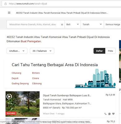 Iklan Jual Beli Tanah Gratis Secara Online