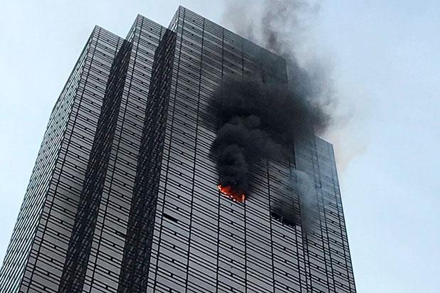 NUEVA YORK: Muere hombre en otro arrasador incendio en Trump Tower