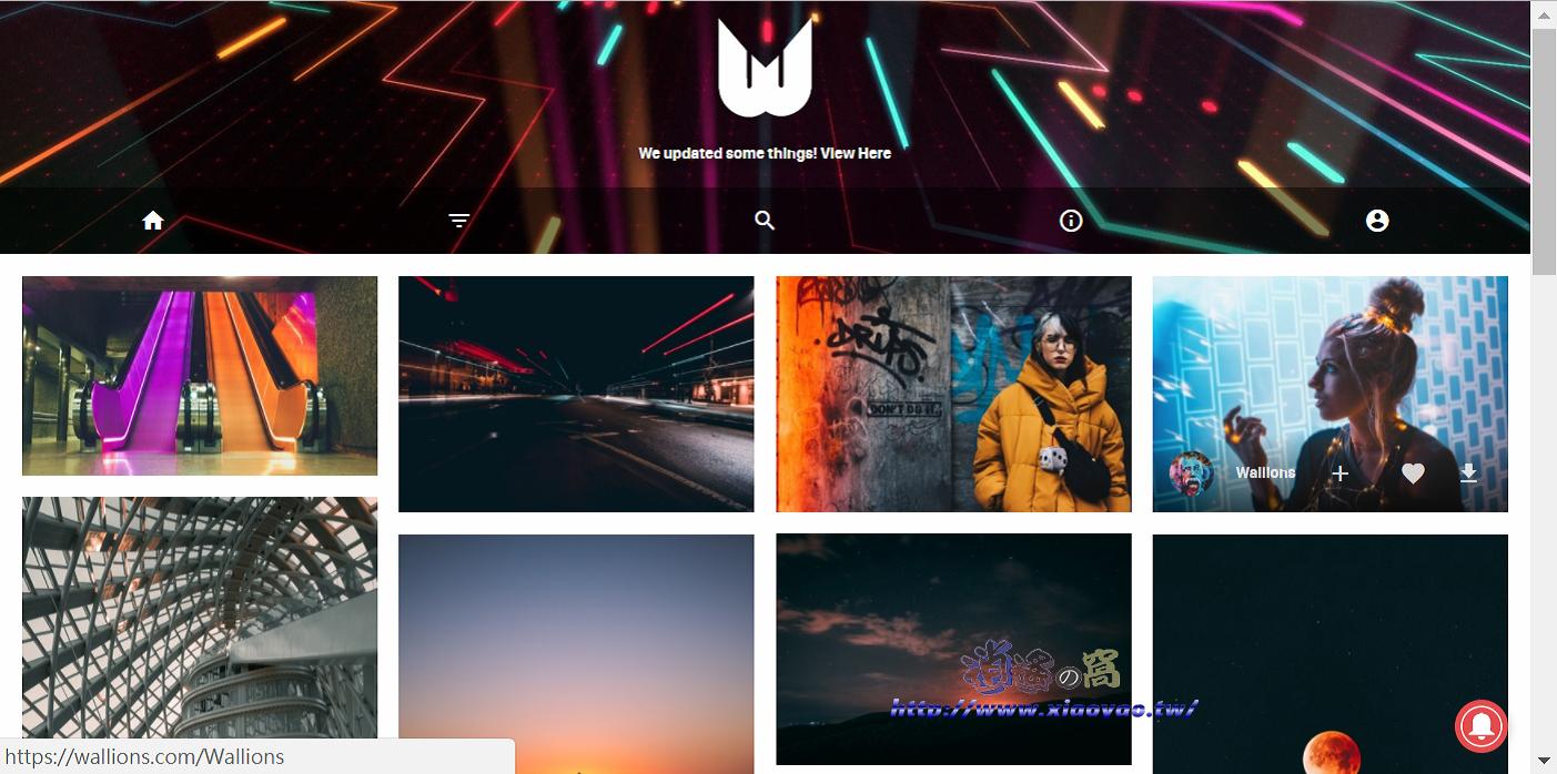 Wallions 免費桌布網站