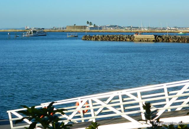 Salvador Bahia Marina: vista para o Forte de São Marcelo