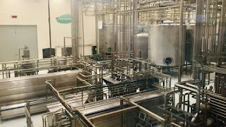 pemerosesan susu pada pabrit susu UHT