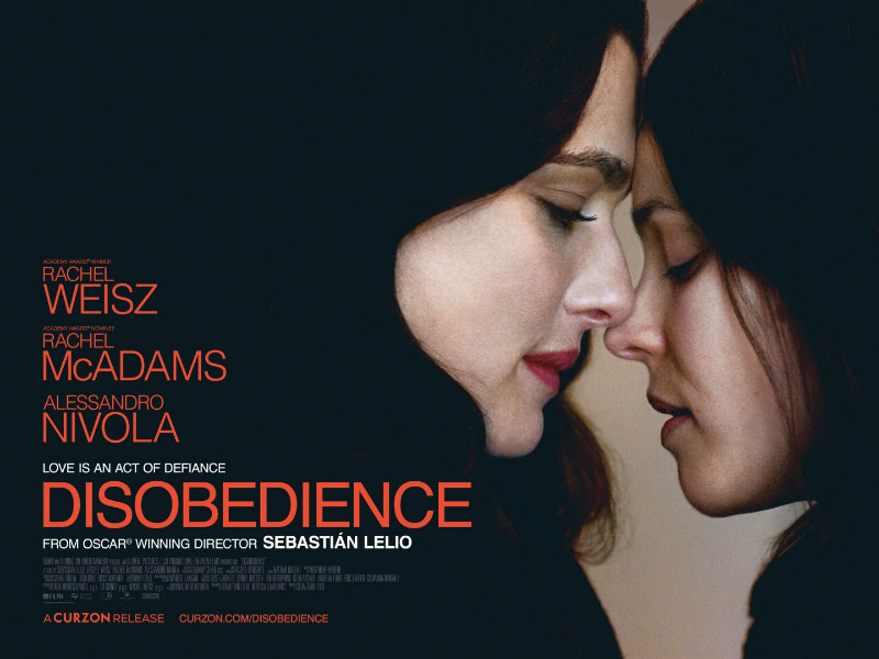 disobedience uk poster
