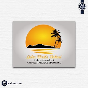 Desain Logo Gelar Wisata Bahari Pulau Senua ke 3