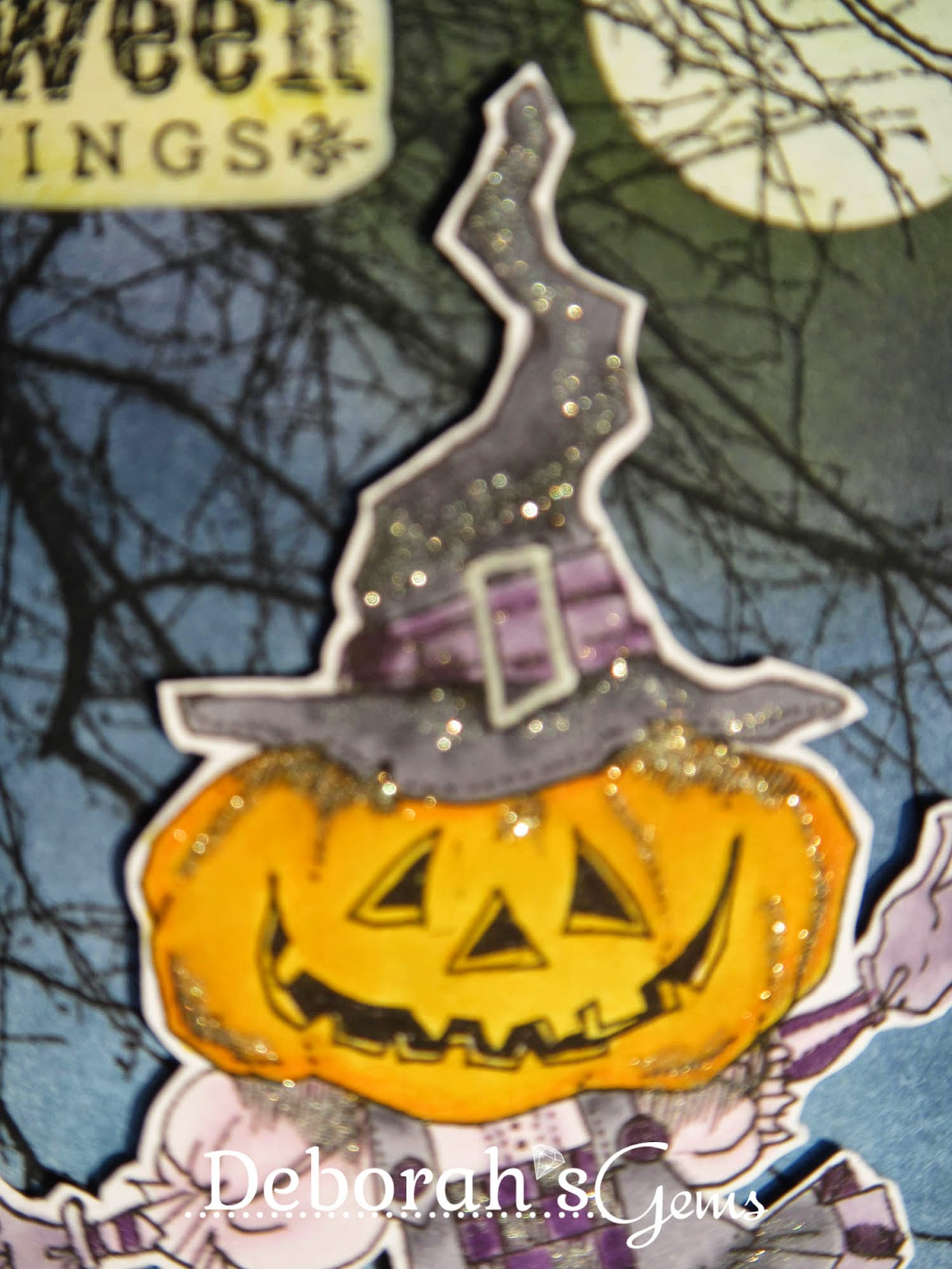 Halloween Greetings detail - photo by Deborah Frings - Deborah's Gems