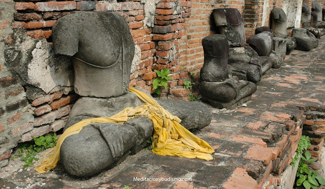 El misterio de la cabeza de Buda decapitada