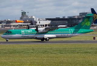 ATR-72 of Aer Lingus Regional (Stobart Air) in Dublin