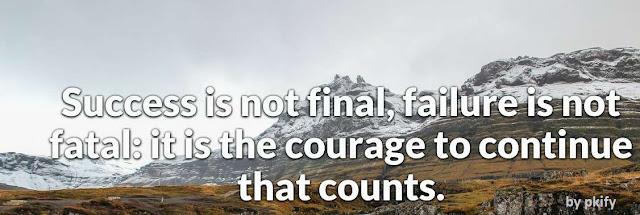 Success is Not Final Failure
